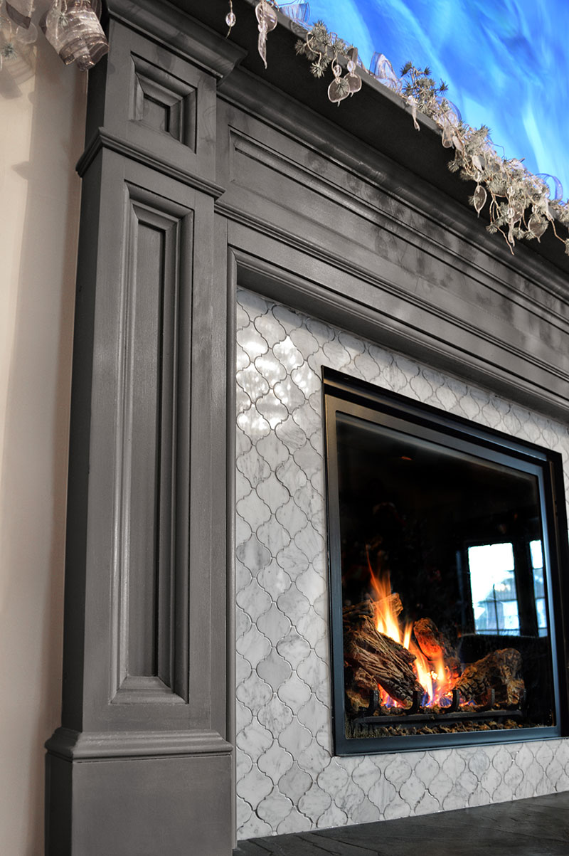 Gallery ember fireplaces of central nj gas wood for Central fireplace