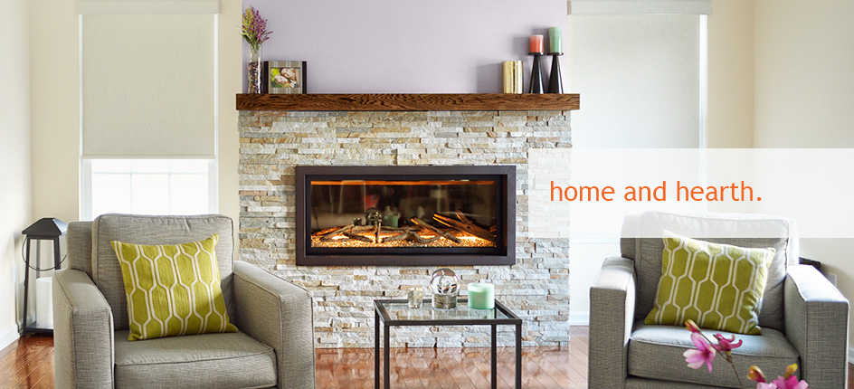 Photo Of Fireplace With Gas Logs - Ember Fireplaces
