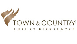 Town & Country Luxury Fireplaces Logo Image - Ember Fireplaces