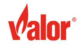 Valor Fireplace Logo Image - Ember Fireplaces